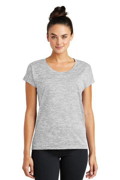Sport-Tek® Ladies PosiCharge® Electric Heather Sporty Tee. LST390