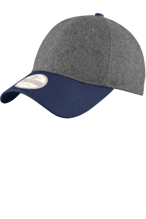 New Era® Melton Wool Heather Cap. NE206