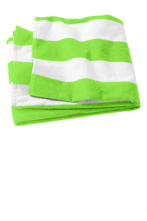 Port Authority® Cabana Stripe Beach Towel. PT43