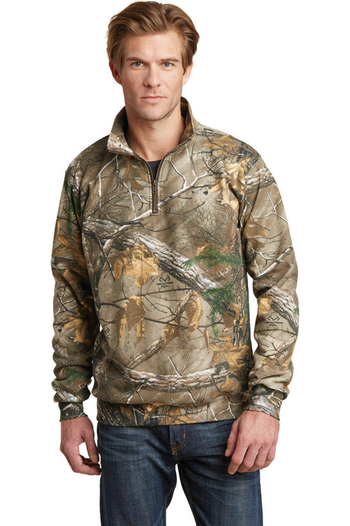 Russell Outdoors™ Realtree® 1/4-Zip Sweatshirt. RO78Q