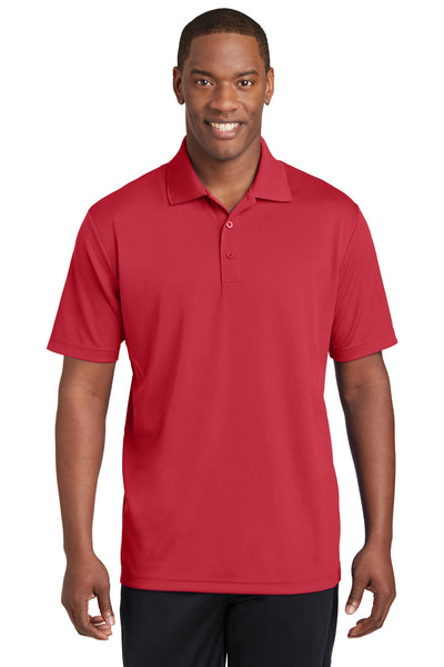 3263f714d Sport-Tek® PosiCharge® RacerMesh® Polo. ST640 (True Red) – True ...