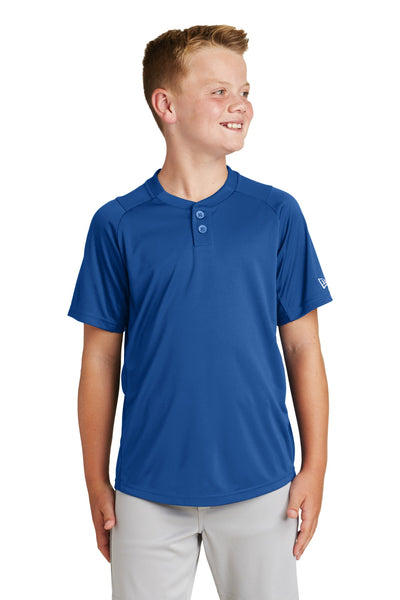 New Era ® Youth Diamond Era 2-Button Jersey. YNEA221