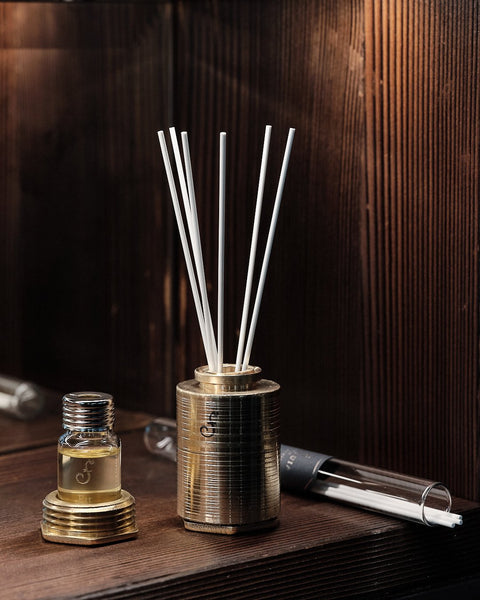 Brass Personal Perfume Diffuser - Caoba