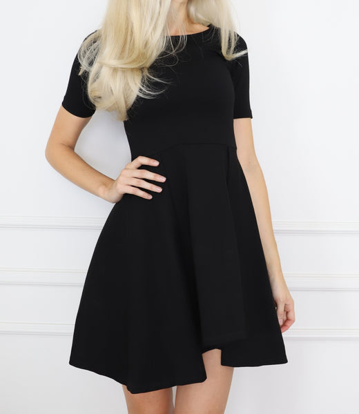 Italian cut mini dress