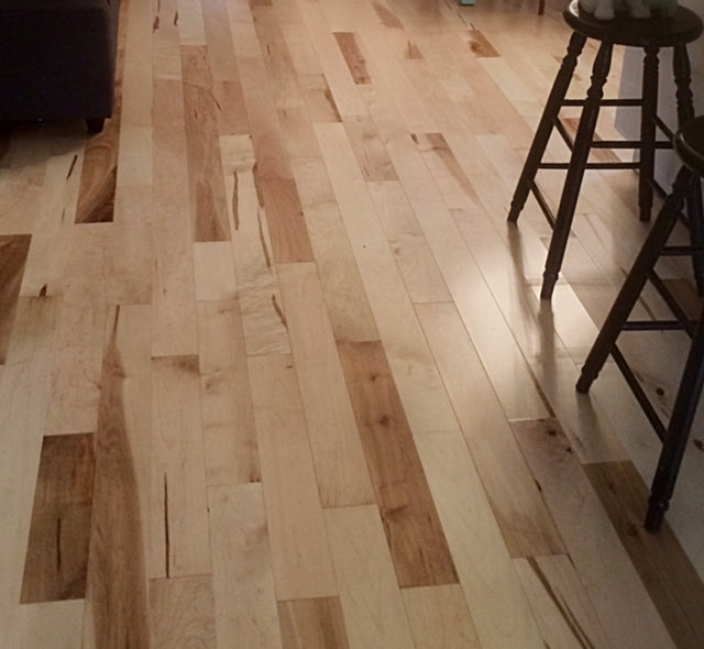 Rustic Maple Solid Hardwood Flooring
