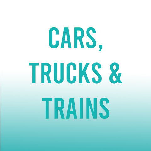 Cars,Trucks and Trains