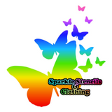 Butterfly Cluster Glitter Tattoos (Set of 5)