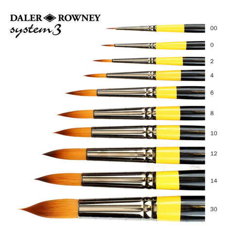 Daler Rowney System3 Brushes