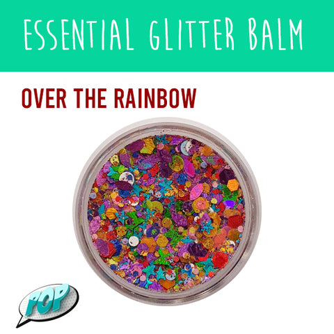 Essential Glitter Balm Over the Rainbow 10g