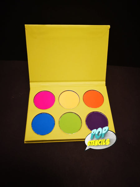 Cameleon Makeup - Bright Colour Eyeshadow Palette