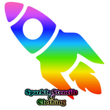 Glitter Tattoos by Sparkle Stencils and Clothing