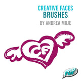 Creative Faces Brushes By Andrea Moje