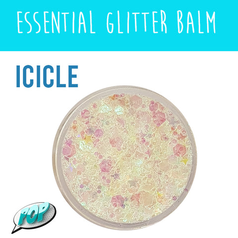 Essential Glitter Balm Icicle 10g