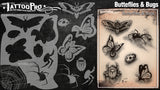 Airbrush Tattoo Pro Butterflies and Bugs