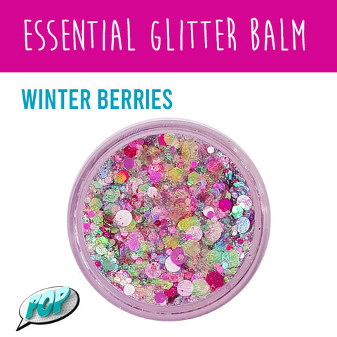 Essential Glitter Balm Winter Berries 10g