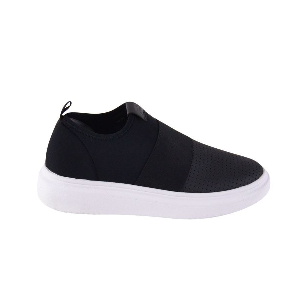 Fessura sneakers slip on forate Edge Clean uomo nere
