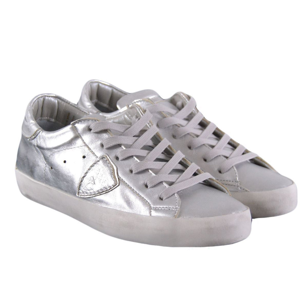 Philippe Model Classic sneakers basse donna argento