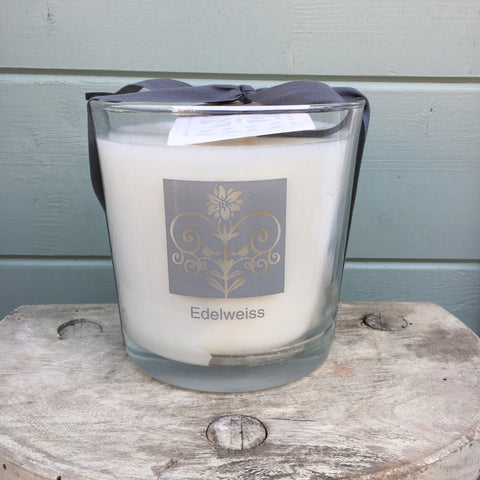 Three Wick Candle - Edelweiss