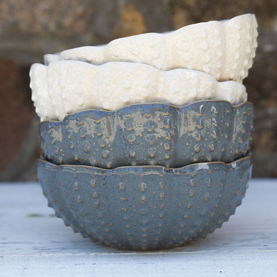 Ceramic Urchin Bowl - Blue