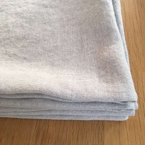 Washed Linen Napkins - Soft Grey
