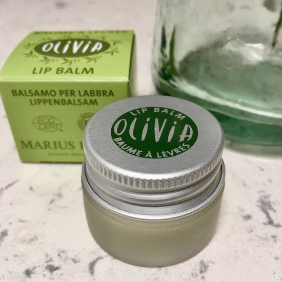 Organic Lip Balm with Essential Oils - Huile d'Olive et Karite (Olive Oil and Shea Butter)