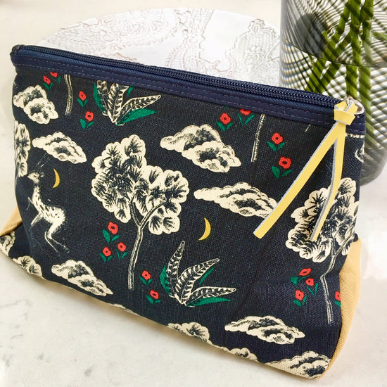Canvas Wash Bag - Woodland