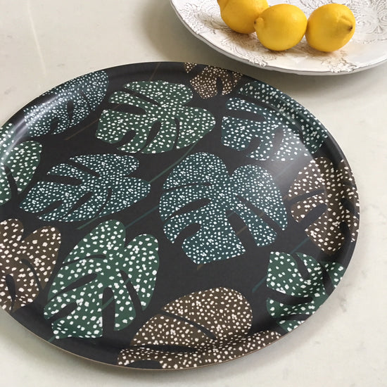 Leaf Tray - Blue and Green