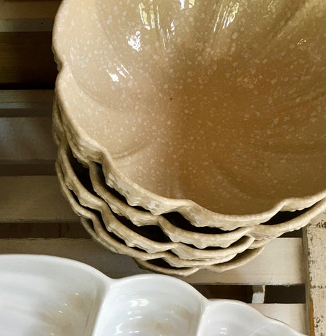 Ceramic Urchin Bowl - Stone