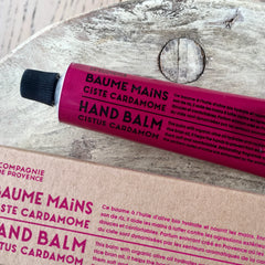 Organic Hand and Body Balm - Ciste Cardamome (Cistus Cardamon Fragrance