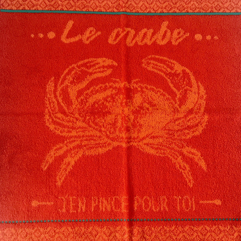Kitchen Hand Towel - Le Crabe