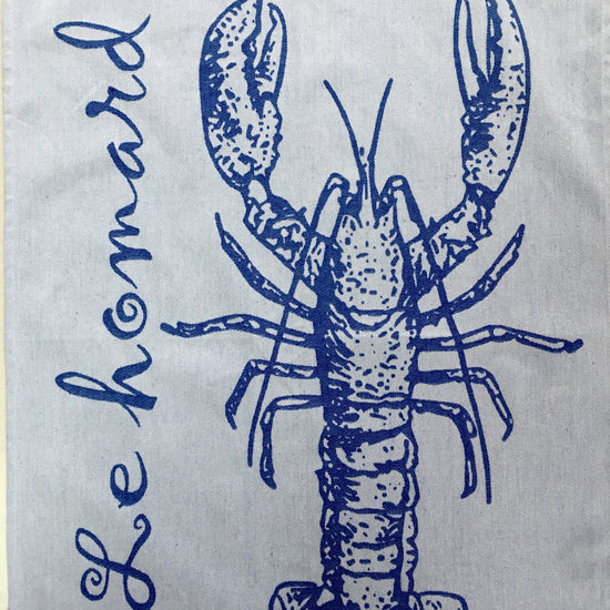 Tea Towel - Le Homard (Lobster)