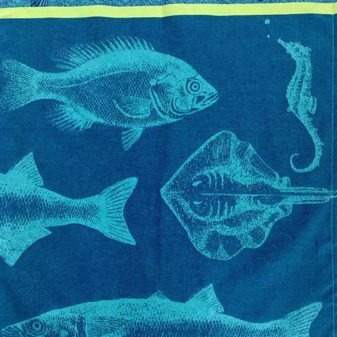 Tea Towel - Les Poissons (Fish)