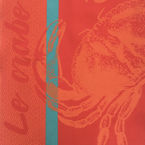 Tea Towel - Le Crabe (Crab)