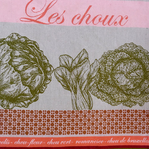 Tea Towel - Les Choux (Cabbage)