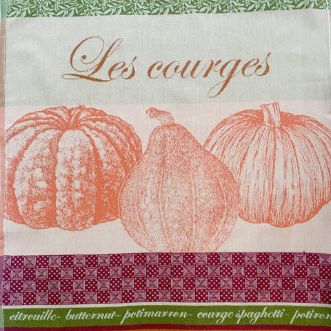 Tea Towel - Les Courges (Squash)