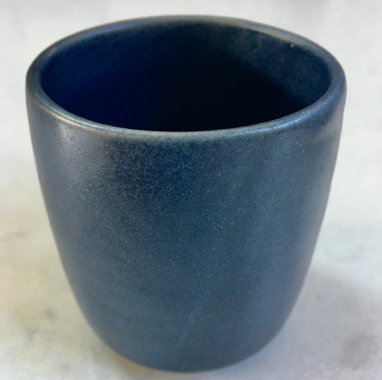 Handmade Coffee Cup - Midnight Blue
