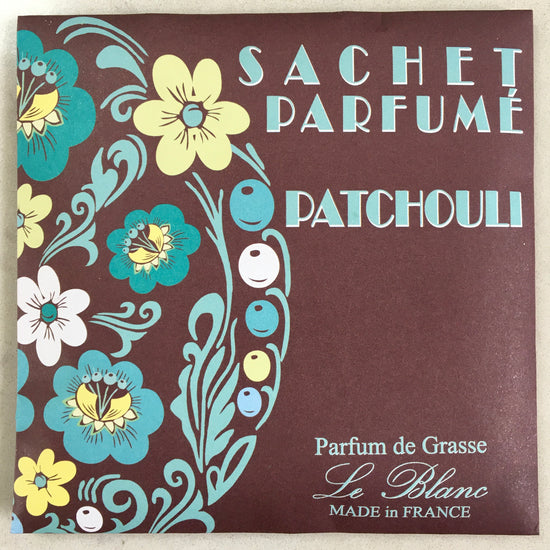 Perfumed Drawer Sachet - Patchouli