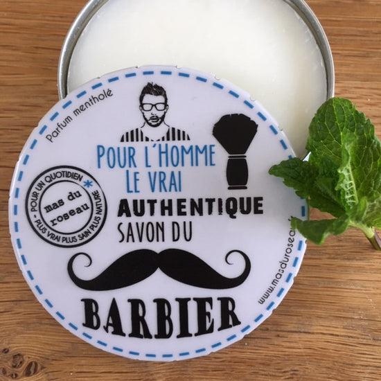 Shaving Soap - Handmade, Mint Fragrance