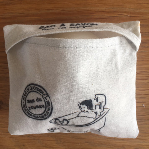 Soap Pocket - Waxed Cotton