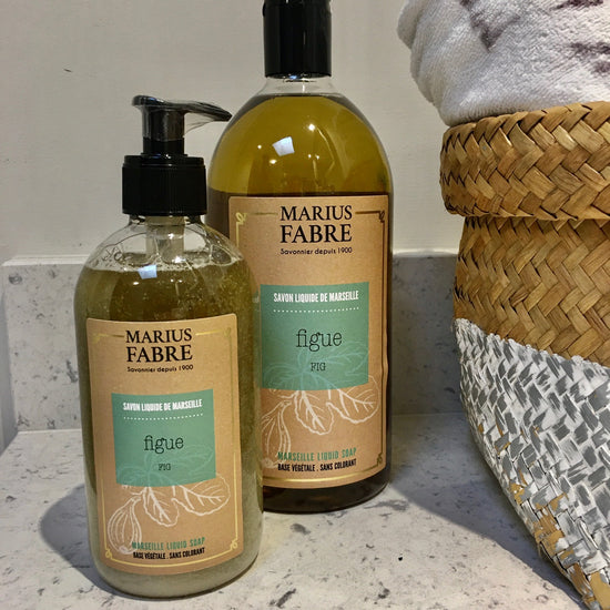 Coconut Oil Liquid Marseille Soap - Figue (Fig) Fragrance
