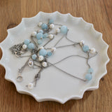 Handmade Porcelain Jewellery Plate - White with Gold; Plain White or Canelé