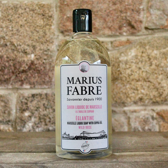 Savon de Marseille Hand Soap and Shower Gel - Eglantine (Wild Rose)