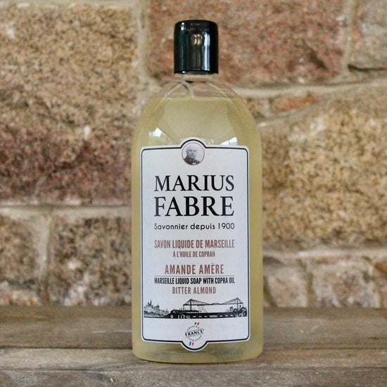 Savon de Marseille Hand Soap and Shower Gel - Amande Amere (Bitter Almond)
