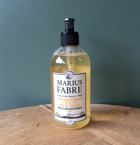 Savon de Marseille Hand Soap and Shower Gel - Miel (Honey)