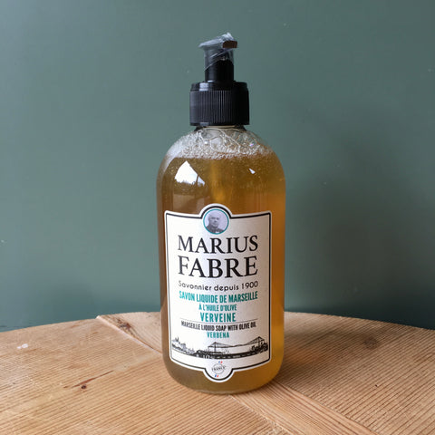 Savon de Marseille Hand Soap and Shower Gel -Verveine (Lemon Balm)