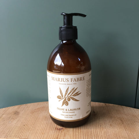 Liquid Marseille Soap - Oils of Olive & Laurel, Natural Fragrance