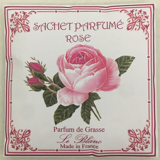 Perfumed Drawer Sachet - Rose