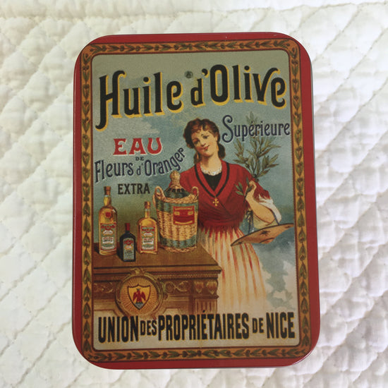 Soap In Travelling Tin - Olive with Orange Blossom