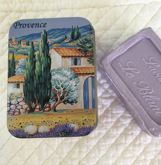 Soap In Travelling Tin - Lavender