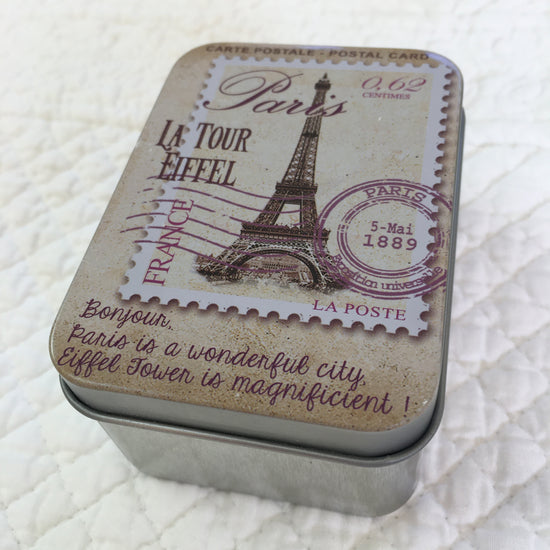 Soap In Travelling Tin - Rose